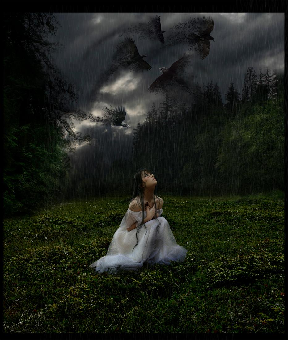 Ravens of the Soul by EwaGeruzel