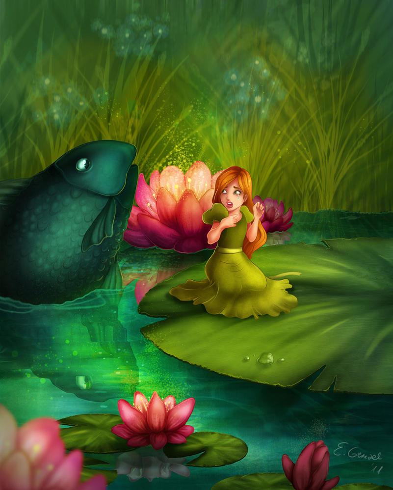 Thumbelina by EwaGeruzel