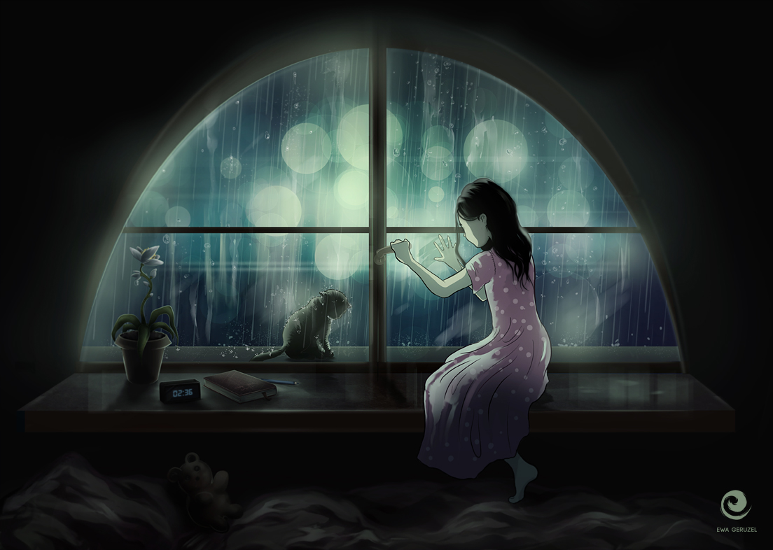 Let me in by EwaGeruzel
