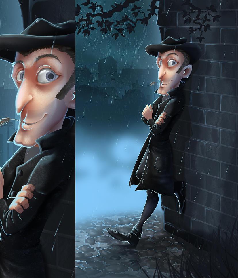 A detective by EwaGeruzel