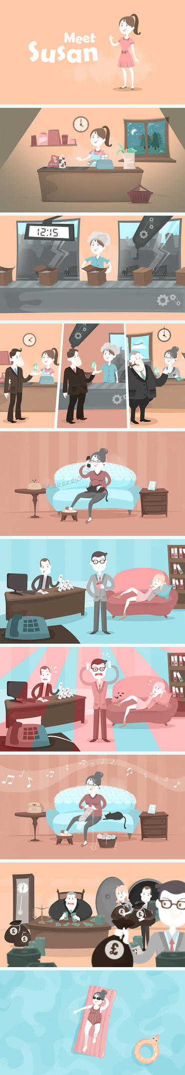 Pension Tracing by EwaGeruzel