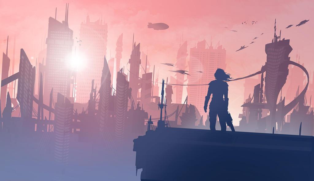 Sky is the limit by EwaGeruzel