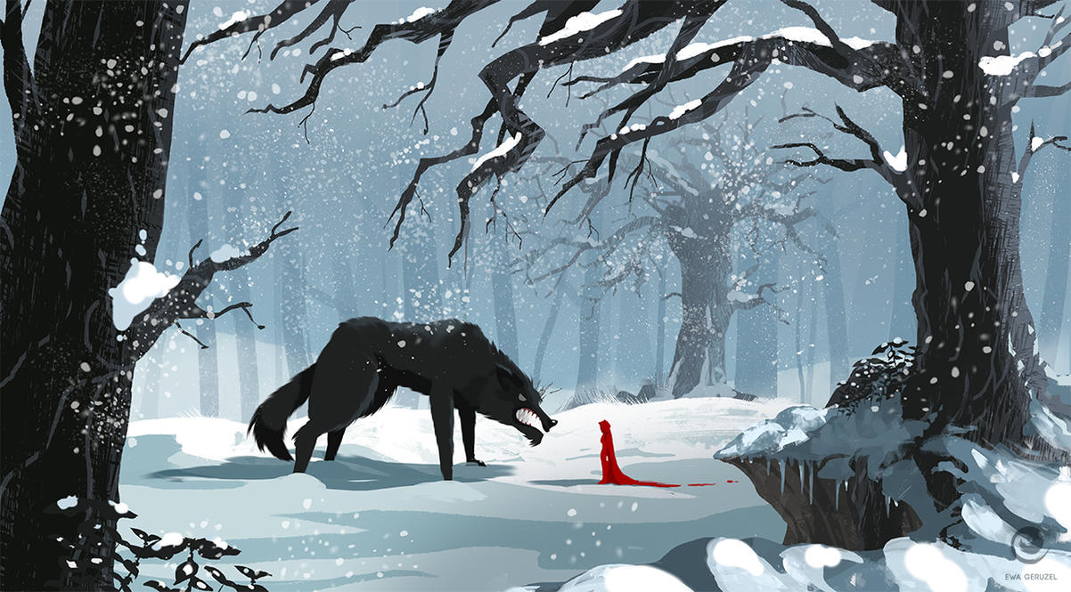 Red Riding Hood by EwaGeruzel