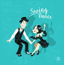 Swing dance by EwaGeruzel