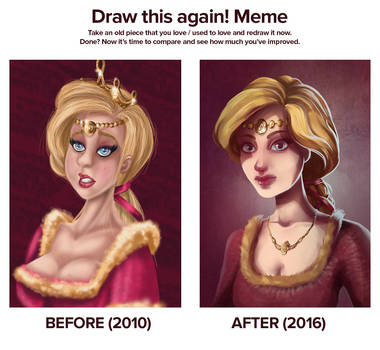 Niam - before and after by EwaGeruzel