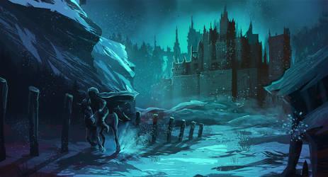 The night rider by EwaGeruzel