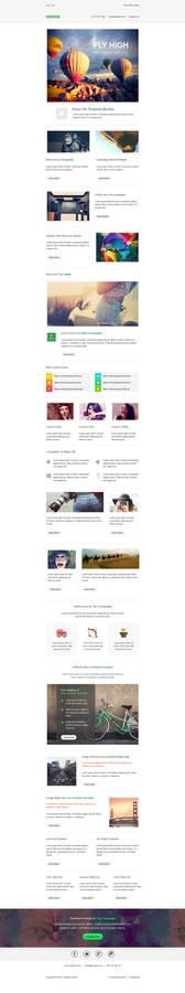 Emerge Responsive Email Newsletter Template