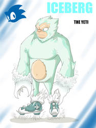 IceBerg the Yetti by Dericules