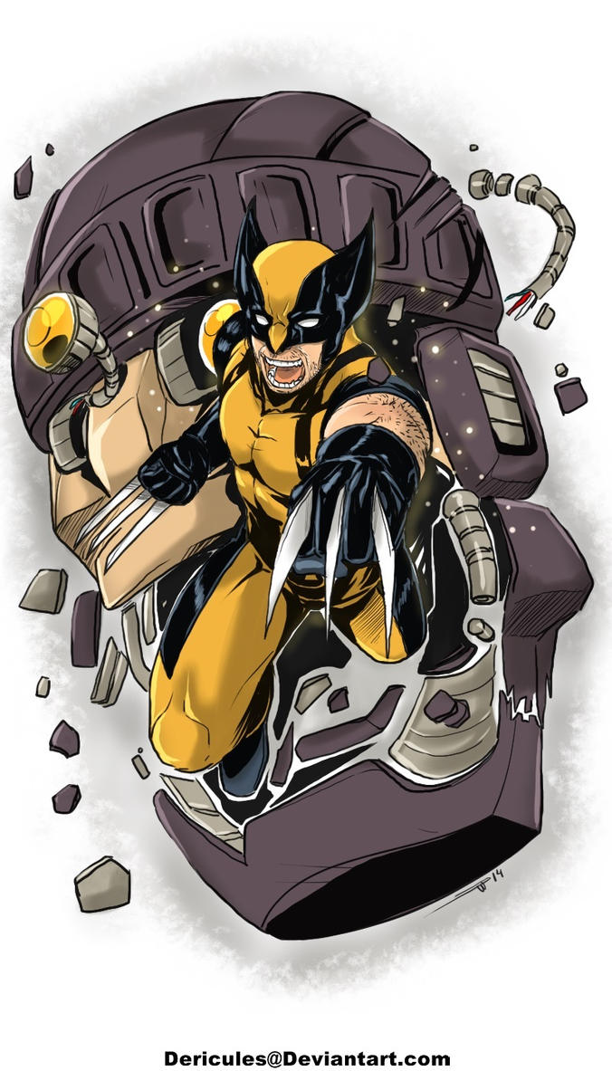 Wolvie by Dericules