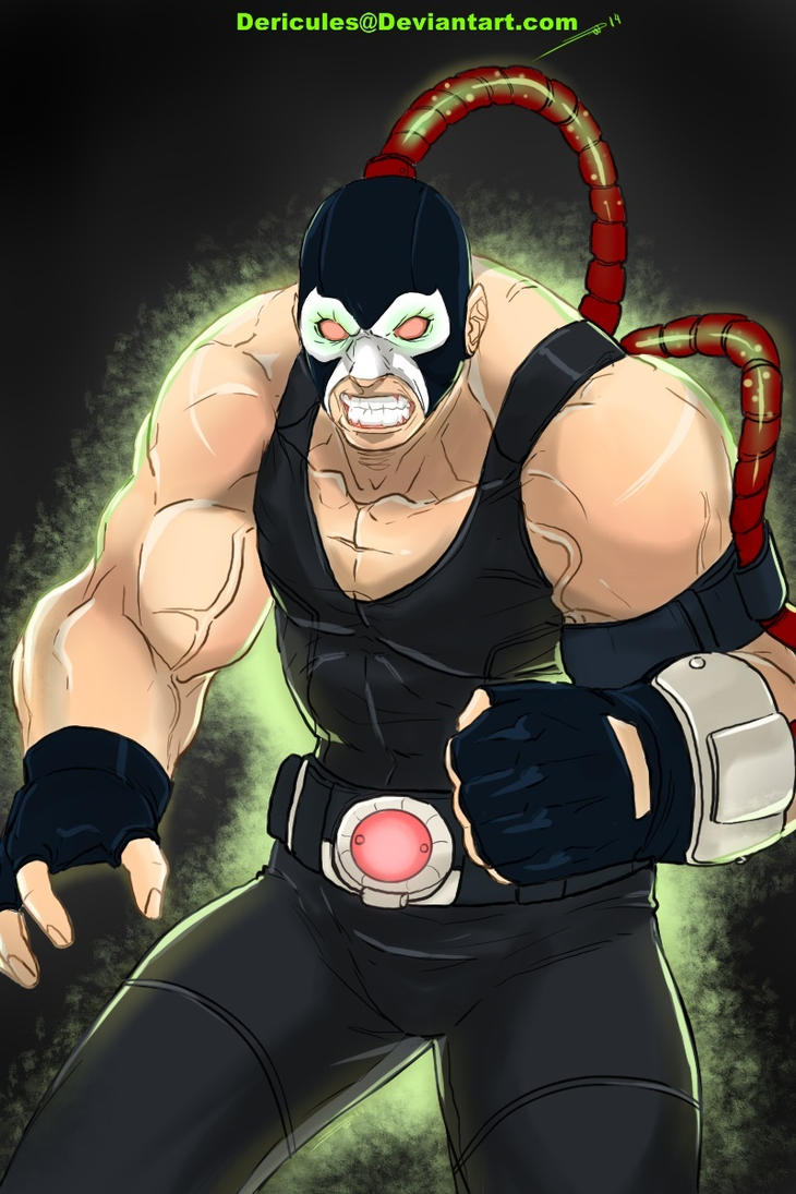 Bane (Color Sketch) by Dericules