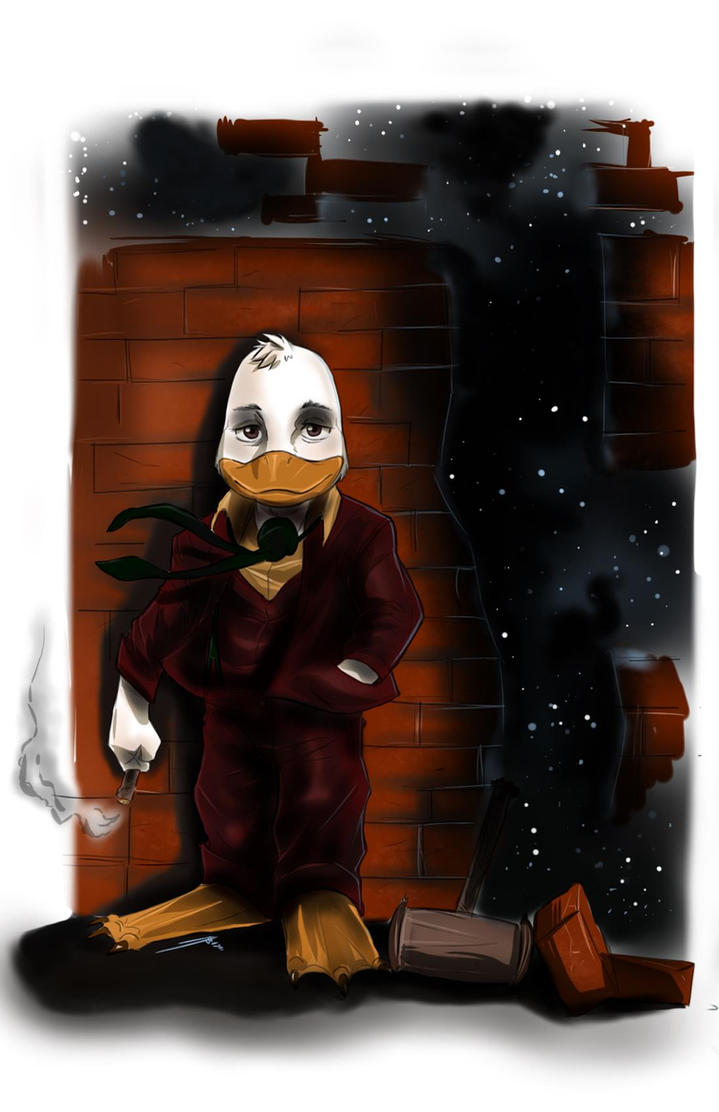 Howard The Duck by Dericules
