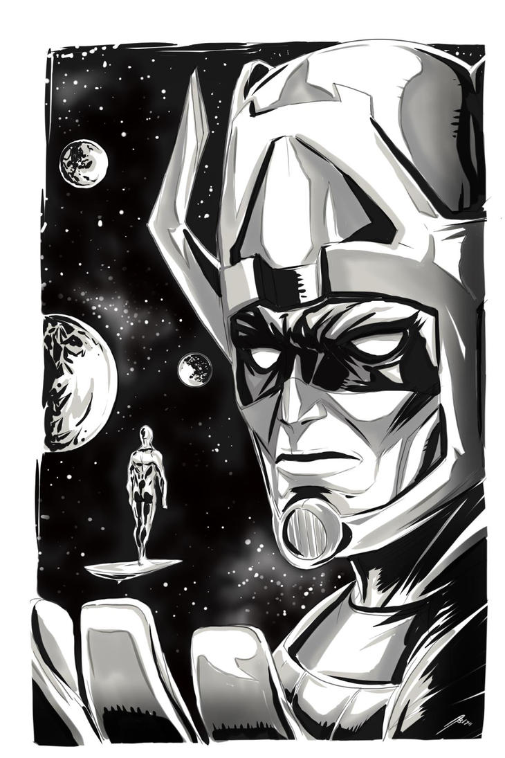 Galactus by Dericules