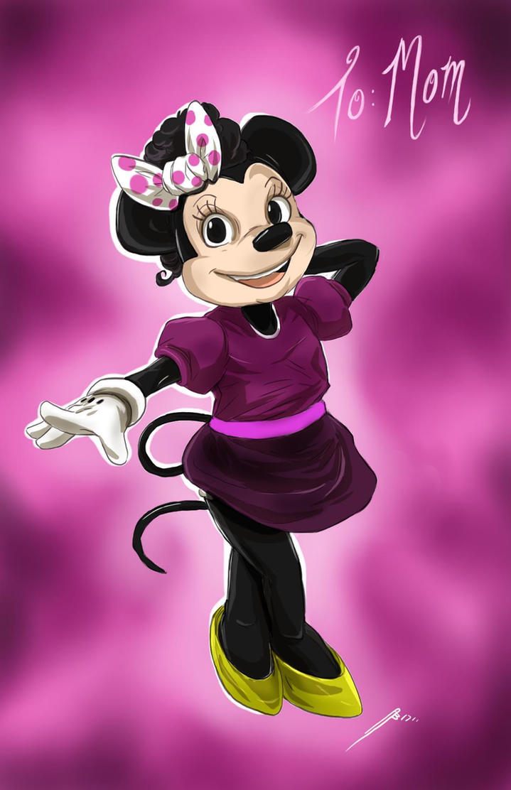 Minnie Mouse by Dericules