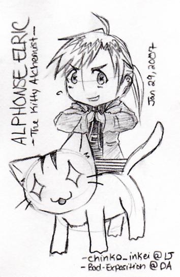 Alphonse the Kitty Alchemist
