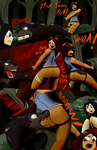 Lara butt bite Croft