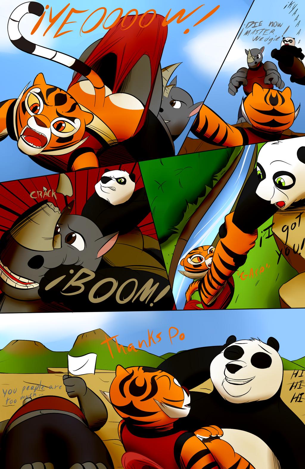 кунг фу панда порно комикс или фото