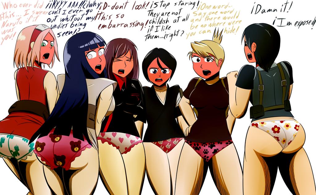 Pantsing Panties 18