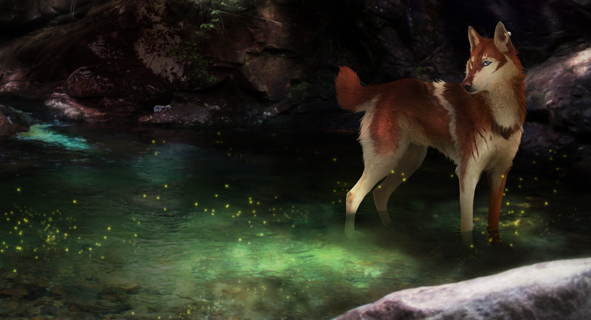 Tumblebelly in the Green Pond by Nanarc
