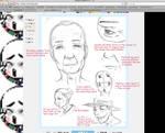 Tutorial 1.2: How to draw elderly.