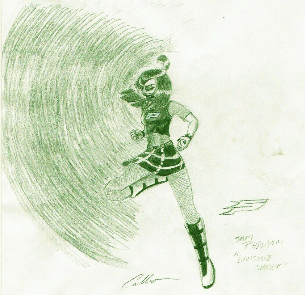 Old Stuff--Banshee Shriek by Stuperman454