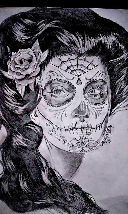 SUGAR SKULL - Kaisha Rene' D (Missy Munster) by MissyMunster13x