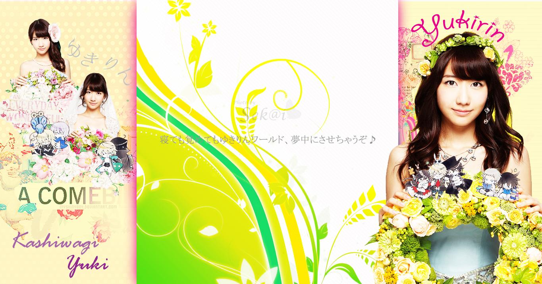 kashiwagi yuki bg twitter birthday wedding by sekaijung