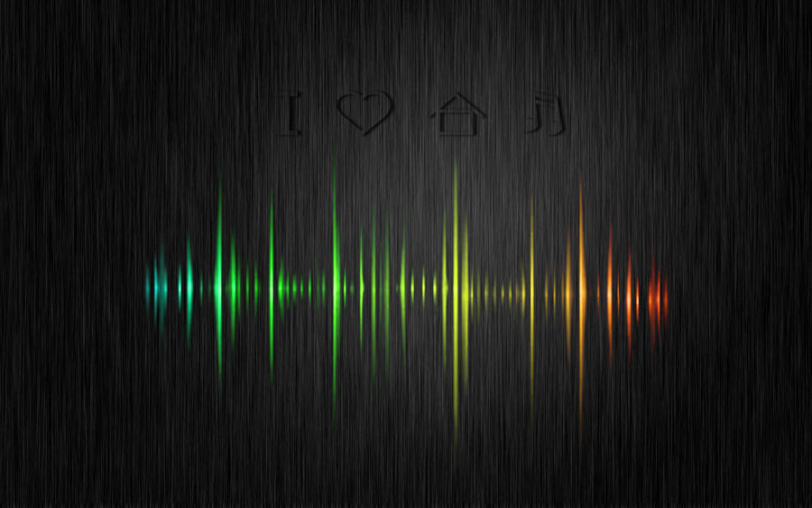 I Love House Music Wallpaper By Freaktim1 On Deviantart