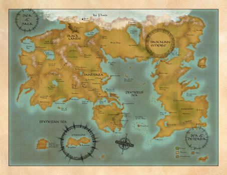 Map of Erchalon