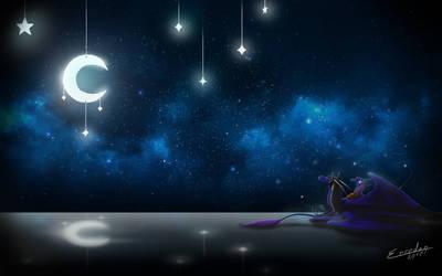 Good Night Wall by Erredan