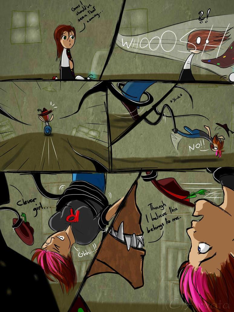 Hat Fight - 3 by Arvata