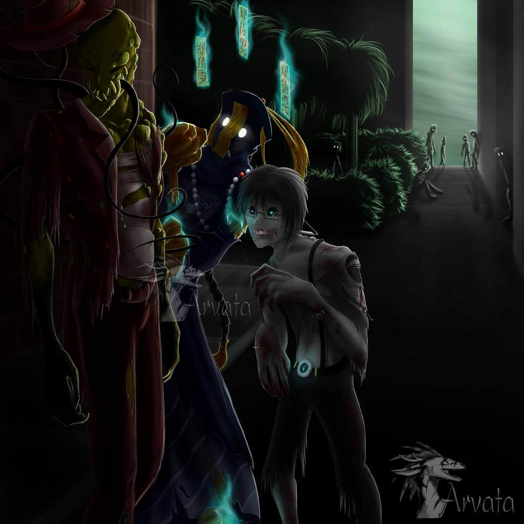We Are The Real Monsters by Arvata