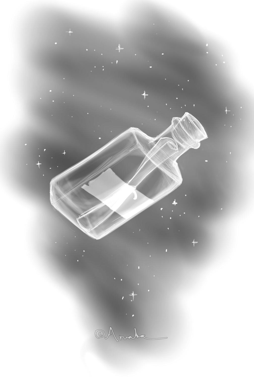 CM - Bottle in Space