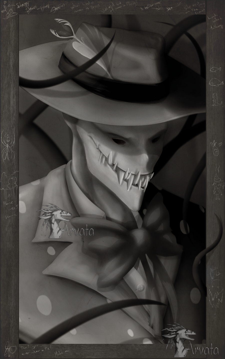 Creepy Splendorman by Arvata