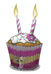 RQ - Anniversary Cupcake