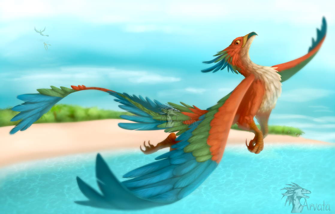 Tropical Flight by Arvata