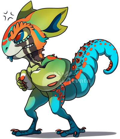 Art Fight: Chibi-Randy by Arvata