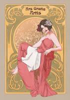 art nouveau by amiesan
