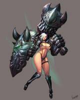 Hammer Girl by katoyo