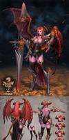 dragon-raja contest_Red Dragon_Istana