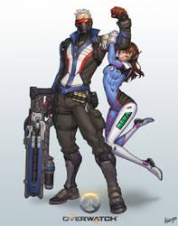 Overwatch-soldier76 D.Va