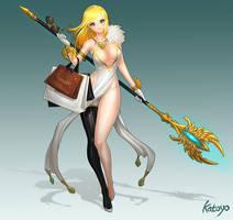 Luxury Sorceress by katoyo