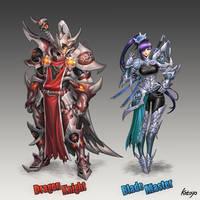 Dragon Knight Blade Master by katoyo
