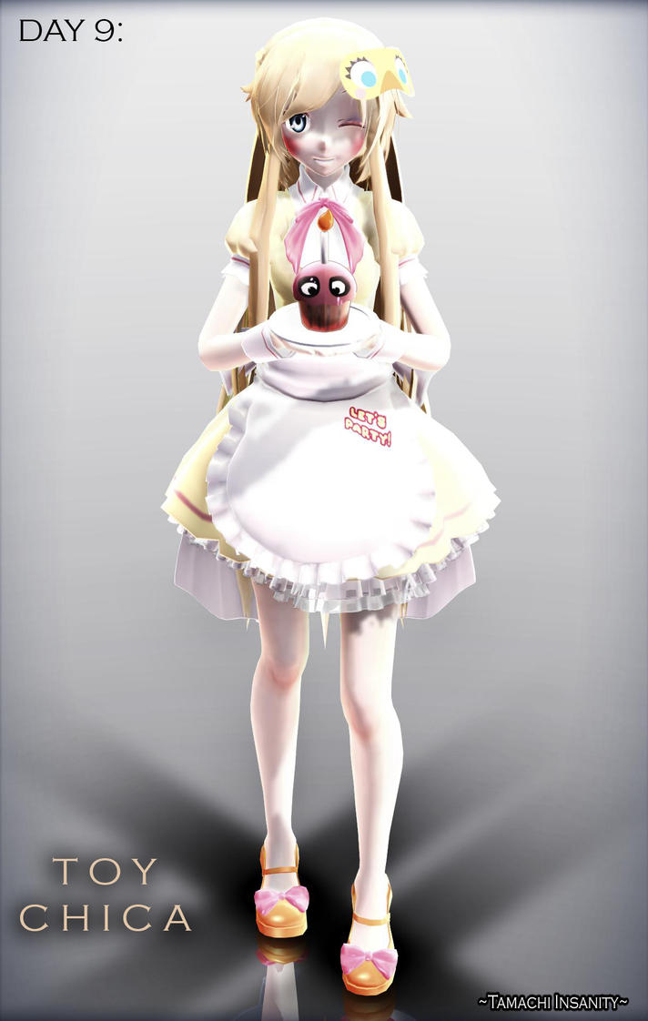 Mmd x fnaf fnaf challenge day 9 toy chica by tamachi insanity on