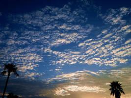 Like Fingerpaints in the Sky by VulcanElf