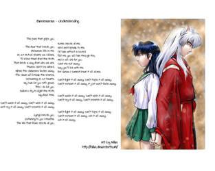 Inuyasha and Kagome - Stuck.3 by theNekk