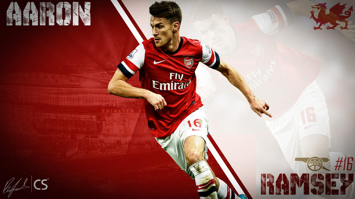 Aaron Ramsey by R7Graphics on DeviantArt