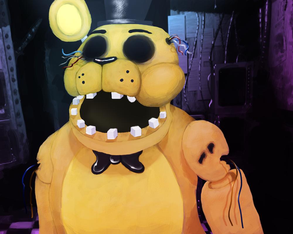 Golden Freddy by DominoBear