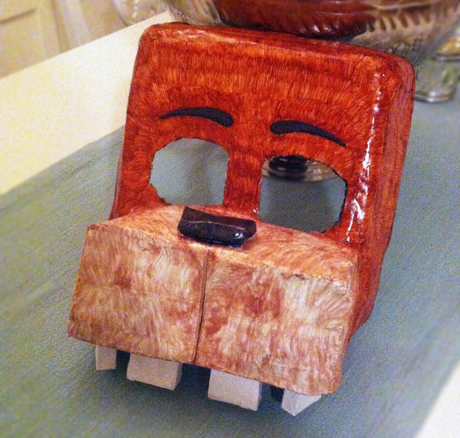 Freddy fazbear mask finished version by dominobear on deviantart