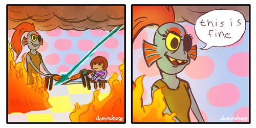 This is fine by DominoBear