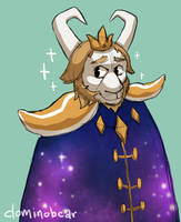 Outertale - Asgore by DominoBear